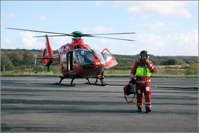 Wales Air Ambulance at Swansea