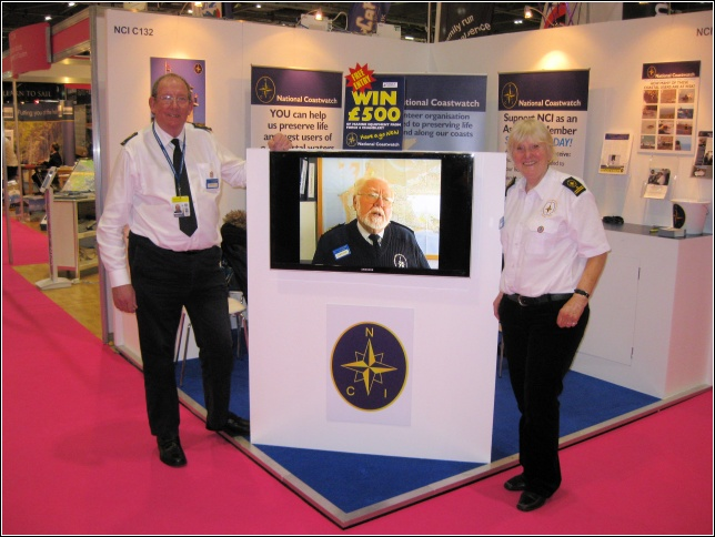 NCI stand at the London Boat show 2014