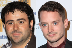 Celyn Jones (L) and Elijah Wood: Photo Credit: Guillermo Proano / WENN.com