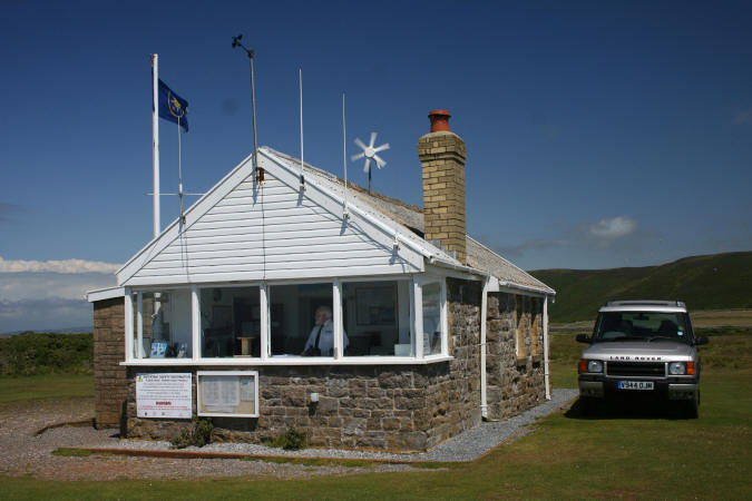 National Coastwatch Institution Lookout at Rhossili